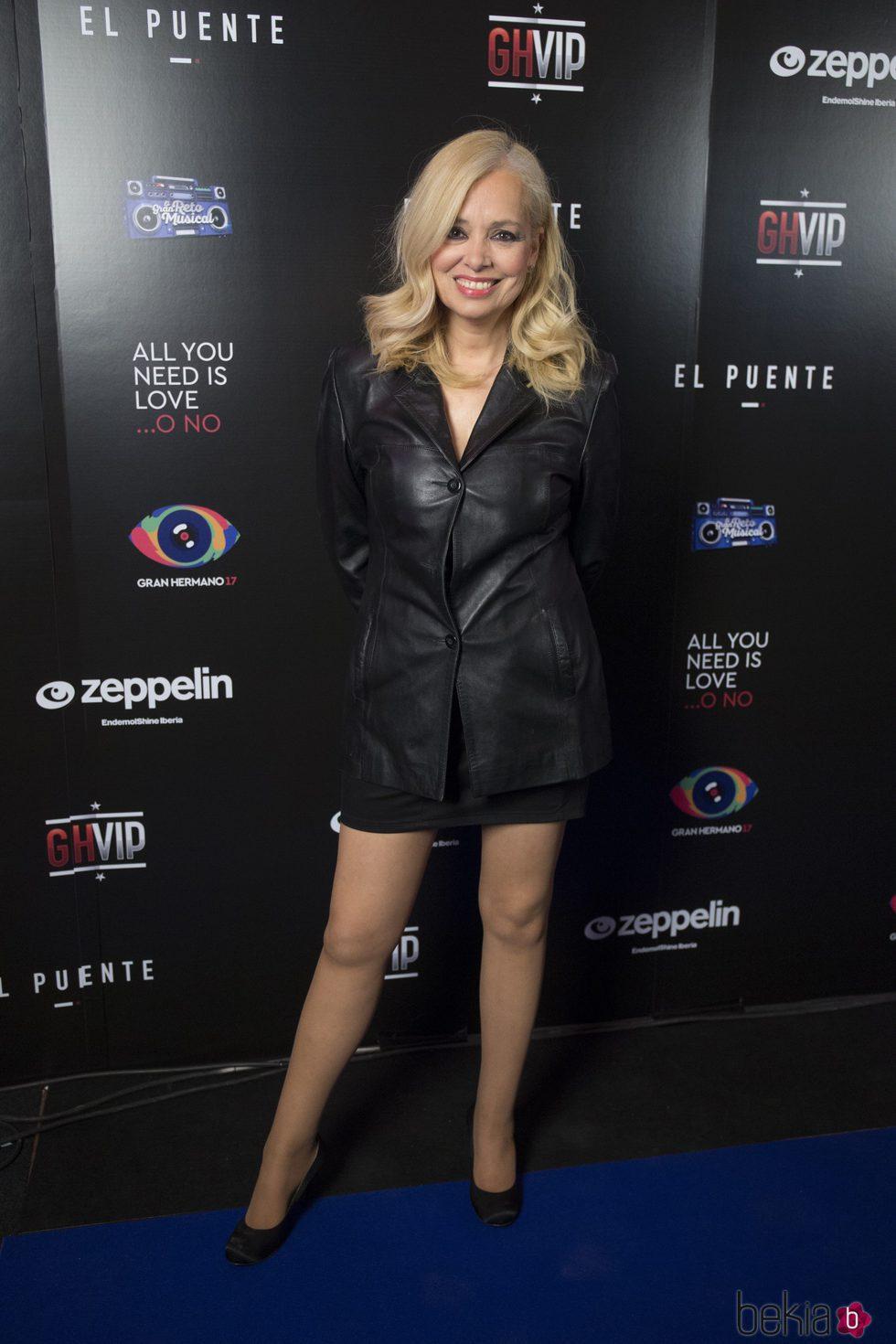 Emma Ozores en la fiesta de 'GH VIP5' y 'GH17'