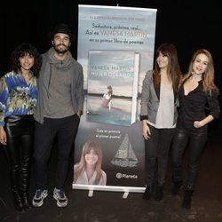 Vanesa Martín presenta su libro junto a Inma Cuesta, Silvia Abascal y Álex García
