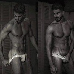 Marco Ferri, desnudo en las redes