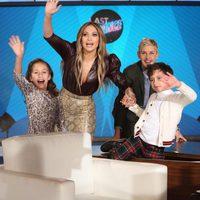 Jennifer Lopez acude como invitada a 'El show de Ellen DeGeneres'
