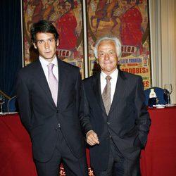 Sebastián Palomo Linares con su hijo Sebastián Palomo Danko