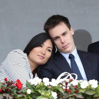 Louis Ducruet y Marie Chevallier, muy enamorados en la final del Master 1000 de Monte-Carlo 2017