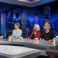 'Las chicas del cable' durante la entrevista en 'El Hormiguero'
