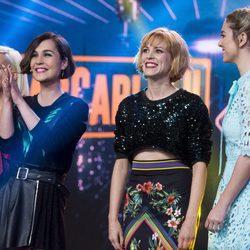 Blanca Suárez, Maggie Civantos, Ana Fernández y Nadia de Santiago en 'El Hormiguero'