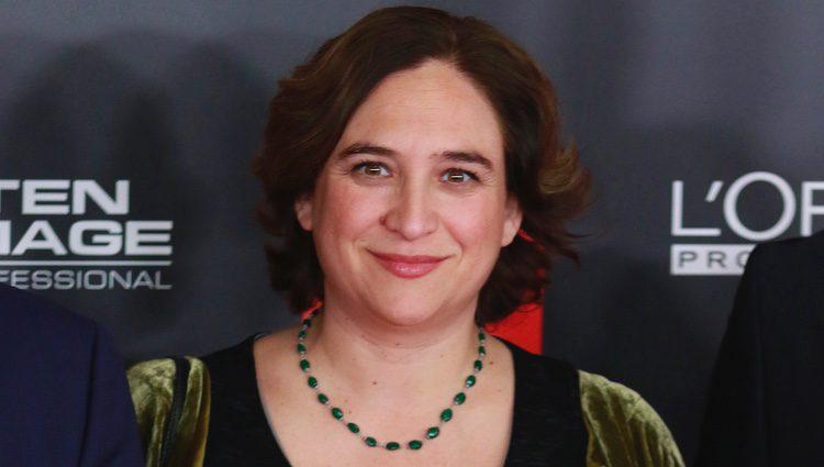 Ada Colau en los Premios Gaudía 2017