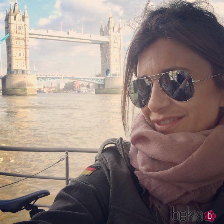 Gema López en Londres