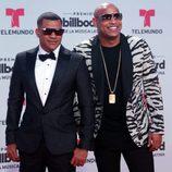 Gente de Zona en la alfombra roja de los Billboard Latinos 2017