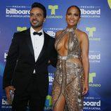 Luis Fonsi y Jennifer Lopez en los Billboard Latinos 2017