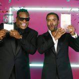Zion y Lennox en loa premios Billboard Latinos 2017