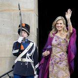 La Reina Máxima de Holanda en la cena de gala por el 50 cumpleaños del Rey Guillermo de Holanda