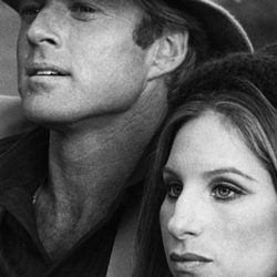 Barbra Streisand con Robert Reford en 'Tal como éramos'