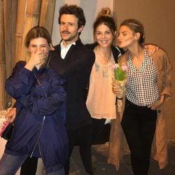 La divertida quedada de Amaia Salamanca, Diego Martín, Miriam Giovanelli y Manuela Velasco