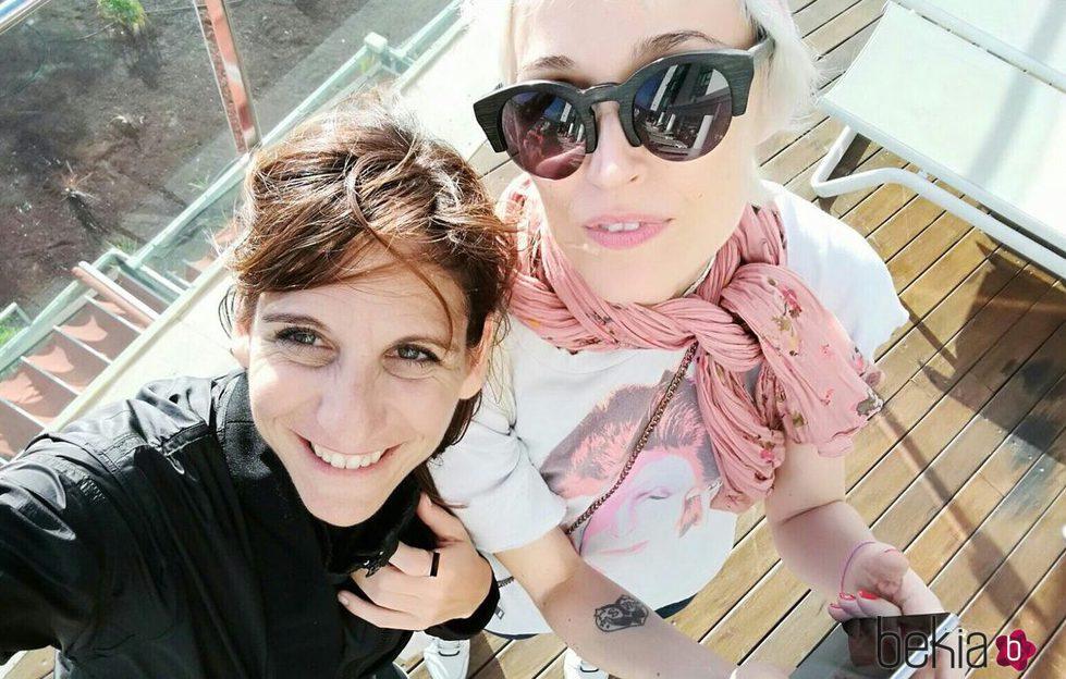 Laura Pamplona y Malena Alterio en su reencuentro en el Festival de Cortometrajes de Lanzarote