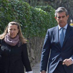 Cristina Borbón Dos Sicilias y su marido Pedro López-Quesada