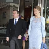 Victoria de Borbón Dos Sicilias junto a su marido Markos Nomikos