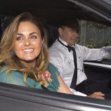 Carmen Morales en la boda de Fonsi Nieto y Marta Castro en Ibiza