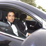 Alonso Aznar en la boda de Fonsi Nieto y Marta Castro en Ibiza