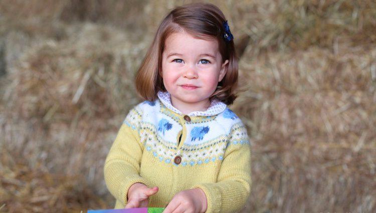 La Princesa Carlota celebra su segundo cumpleaños