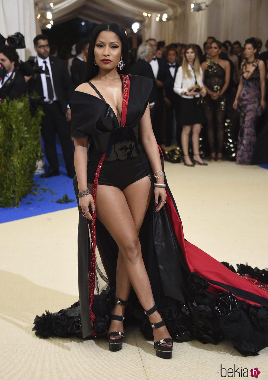 Nicki Minaj en la Gala MET 2017