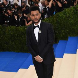 The Weeknd en la Gala MET 2017