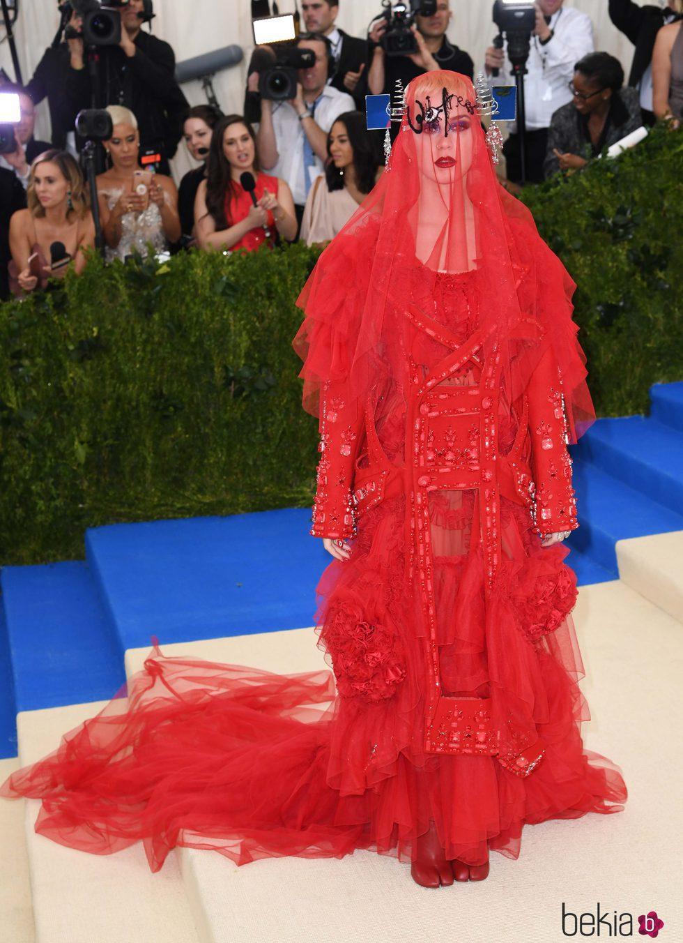 Katy Perry en la Gala MET 2017