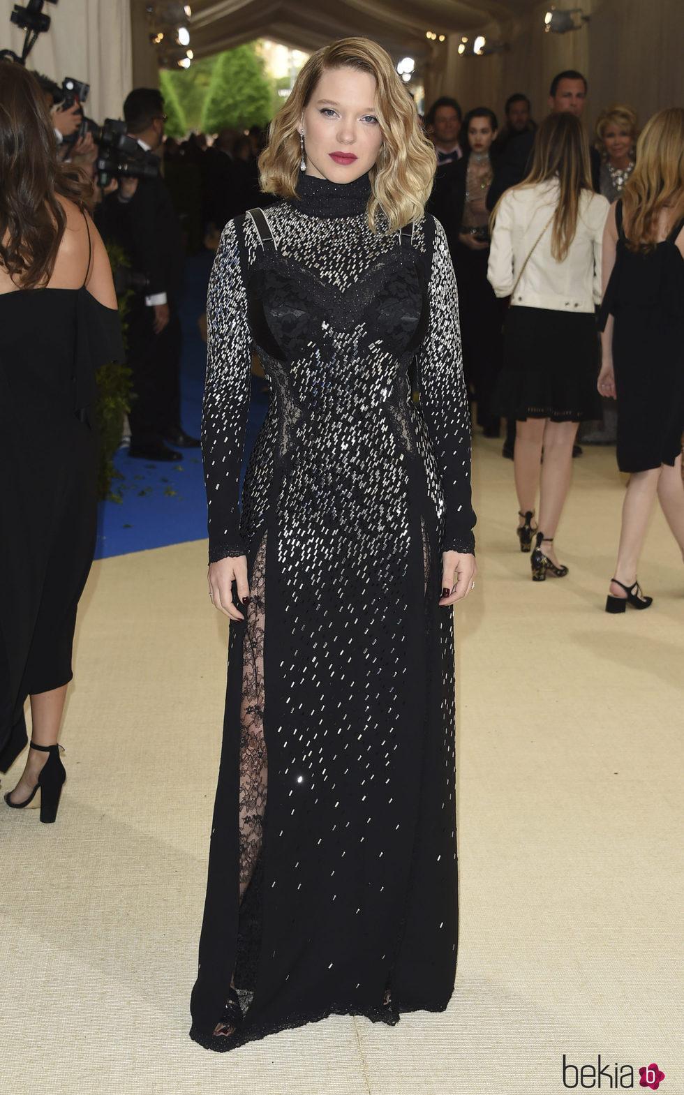 Léa Seydoux en la Gala MET 2017
