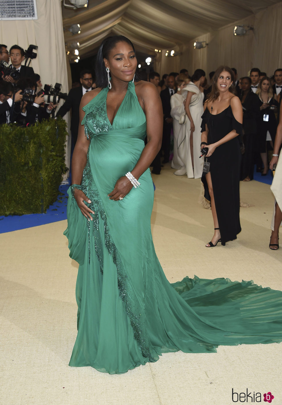Serena Williams en la Gala MET 2017