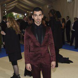 Joe Jonas en la Gala MET 2017