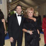 Hugh Jackman y Deborra-Lee Furness en la Gala MET 2017