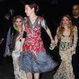 Mary-Kate y Ashley Olsen en la afterparty del MET 2017