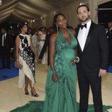 Serena Williams y su prometido