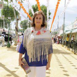 Carmen Tello en la Feria de Abril 2017
