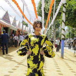 Raquel Revuelta en la Feria de Abril 2017