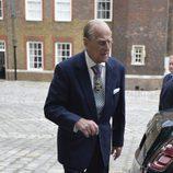 Primera imagen del Duque de Edimburgo tras anunciar que se jubila