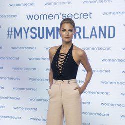 Amaia Salamanca posando como embajadora de la primavera/verano 2017 de Women'secret