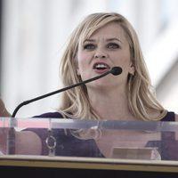 Reese Witherspoon en la ceremonia en honor a Goldie Hawn y Kurt Russell