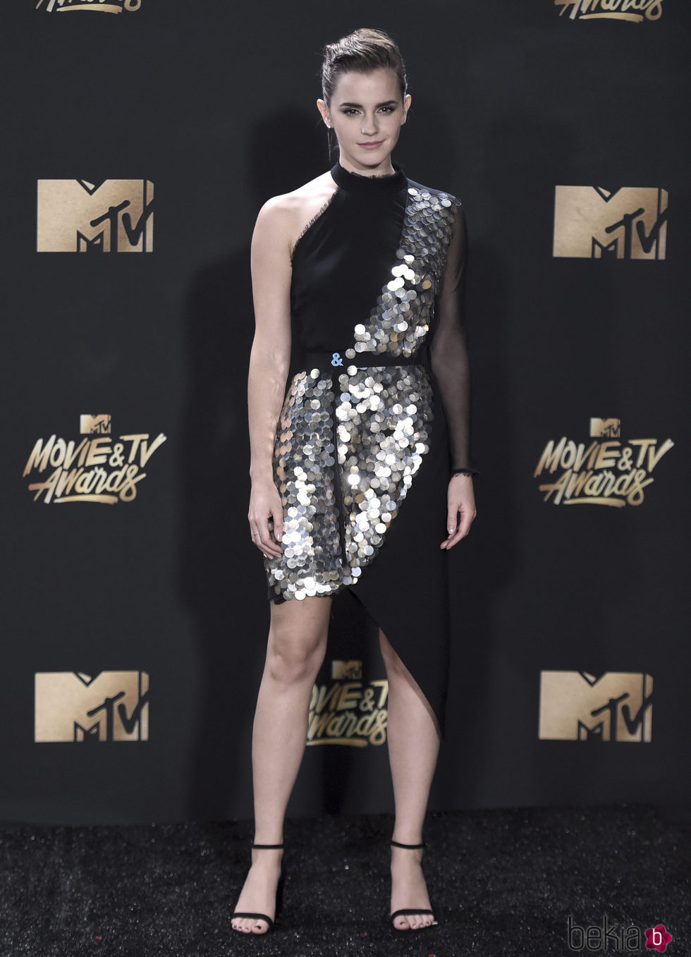 Emma Watson en la alfombra roja de los MTV Movie Awards 2017