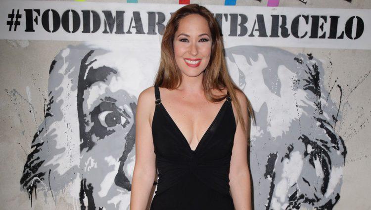 Rosario Mohedano en su primer acto público tras la muerte de Pepe Oliver