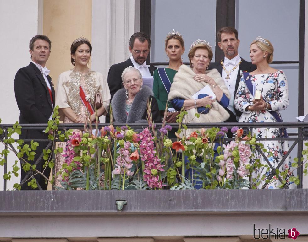 La Familia Real Danesa y la Familia Real Griega en el 80 cumpleaños ...