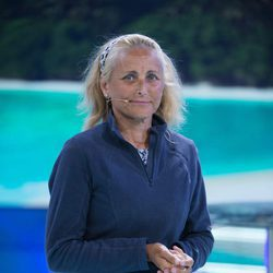 Lucía Pariente tras su llegada de 'Supervivientes 2017
