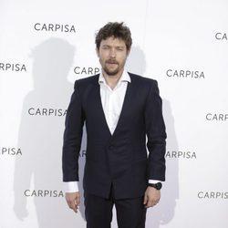Jan Cornet durante un evento de la marca de bolsos Carpisa
