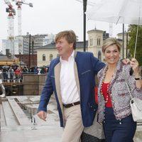 Los reyes de Holanda en el 80 cumpleaños de Harald y Sonia de Noruega