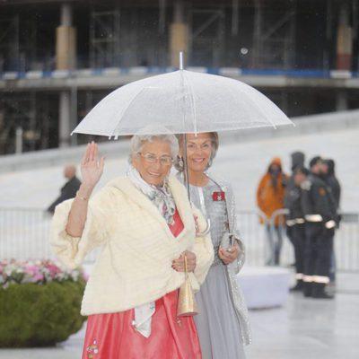 Astrid de Noruega en la cena en honor a los Reyes de Noruega por su 80 cumpleaños