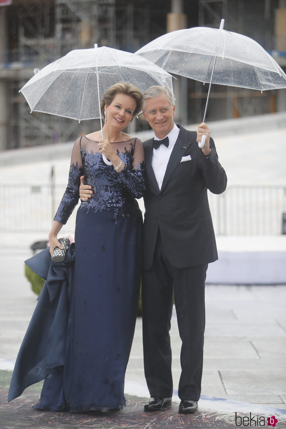 Felipe y Matilde de Bélgica en la cena en honor a los Reyes de Noruega por su 80 cumpleaños