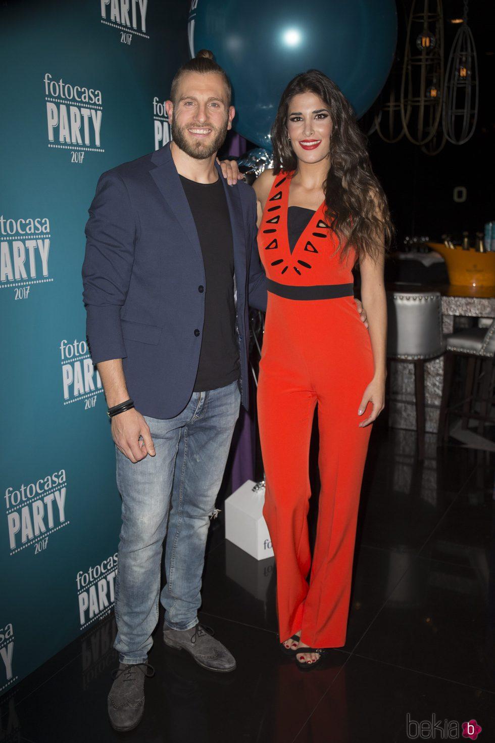 Lidia Torrent y Matías Roure durante el acto de Fotocasa Party en Madrid