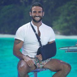 Eliad Cohen en el plató de 'Supervivientes 2017'