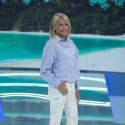 Lucía Pariente posando en la gala de 'Supervivientes 2017'