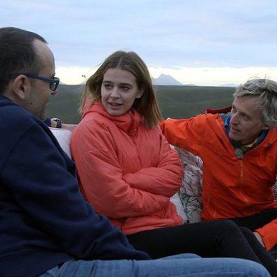 Jesús Calleja con Risto Mejide y Laura Escanes en 'Planeta Calleja'