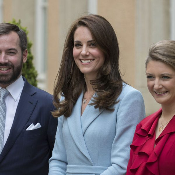 Kate Middleton en su visita oficial a Luxemburgo