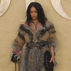 Rihanna en la presentación de la colección Crucero de Dior 2017